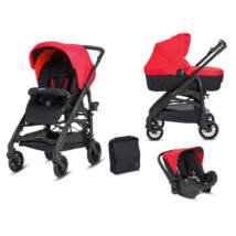 Inglesina Trilogy Colors 3in1 babakocsi Race Red