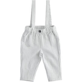 IDO fiú kantáros hosszú nadrág csíkos 62