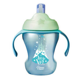 Tommee Tippee easy drink cup itatópohár 230ml 6M+ - kék