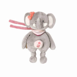 Nattou zenélő Adele & Valentine - Adele, az elefánt figura 21 cm