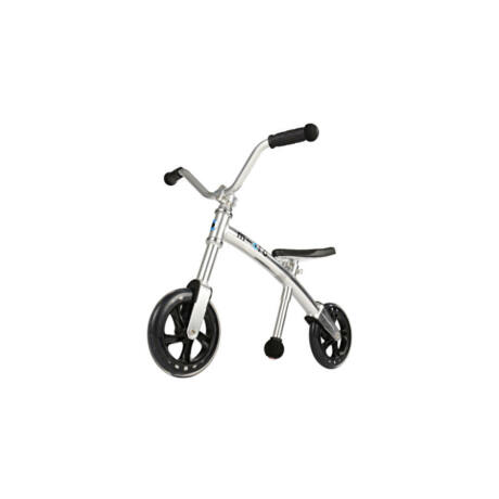G-Bike Micro Chopper futóbicikli, ezüst