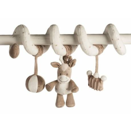 Nattou Plüss spirál figurákkal - Max, Noa & Tom