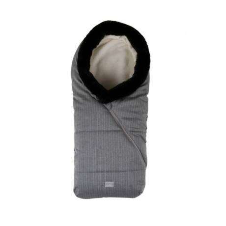 Nuvita Ovetto Pop bundazsák 80cm - Pinstripe Light Grey / Beige