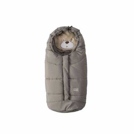 Nuvita Cuccioli bundazsák 80cm - Bear Melange Light Grey / Grey