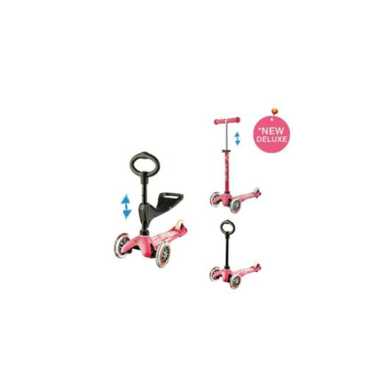 3in1 Mini Micro Deluxe roller, pink